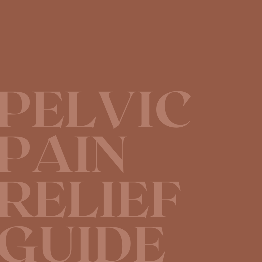 Pelvic Pain Relief Guide